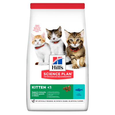 Сухой корм для котят Hill's Science Plan Kitten Healthy Development Tuna с тунцом