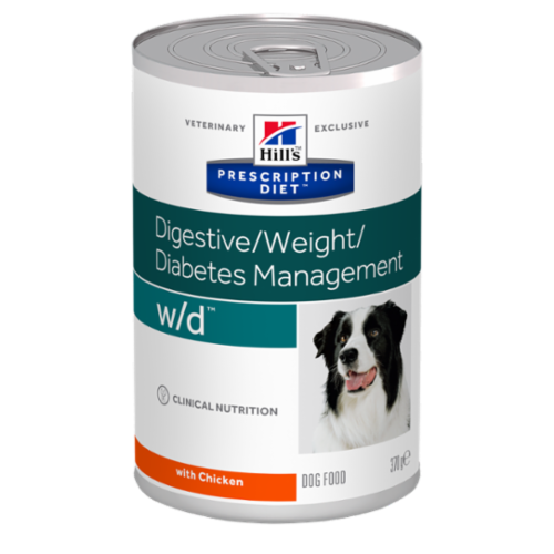 Консервы для собак Hill's Prescription Diet Canine W/D при диабете