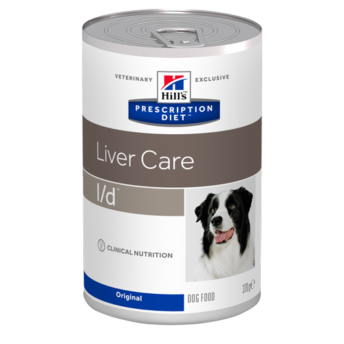 Консервы для собак Hill's Prescription Diet Canine L/D при заболеваниях печени